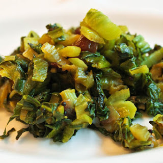 Indian Spiced Bok Choy