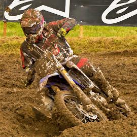 mud in your eye by Andy Dow - Sports & Fitness Motorsports ( mud, motorcross, motox, mx, motorsport )