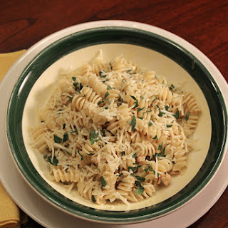 Rotini with White Clam Sauce