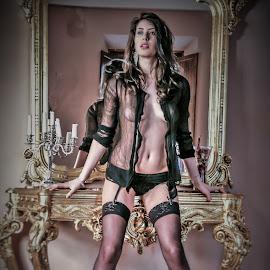 lingerie by Adriano Ferdinandi - Nudes & Boudoir Artistic Nude