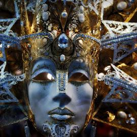 Mask by Zdenka Rosecka - Artistic Objects Other Objects