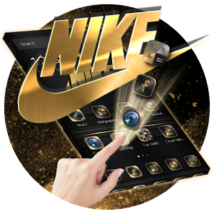 Golden Black Deluxe Nike Theme