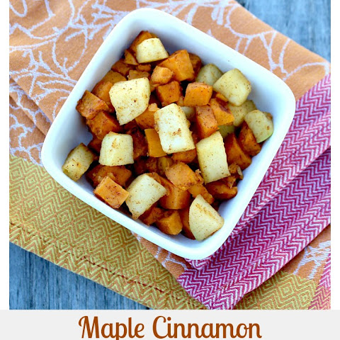 Maple Cinnamon Sweet Potatoes and Apples