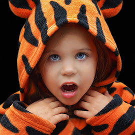Tiger girl by Lucia STA - Babies & Children Child Portraits