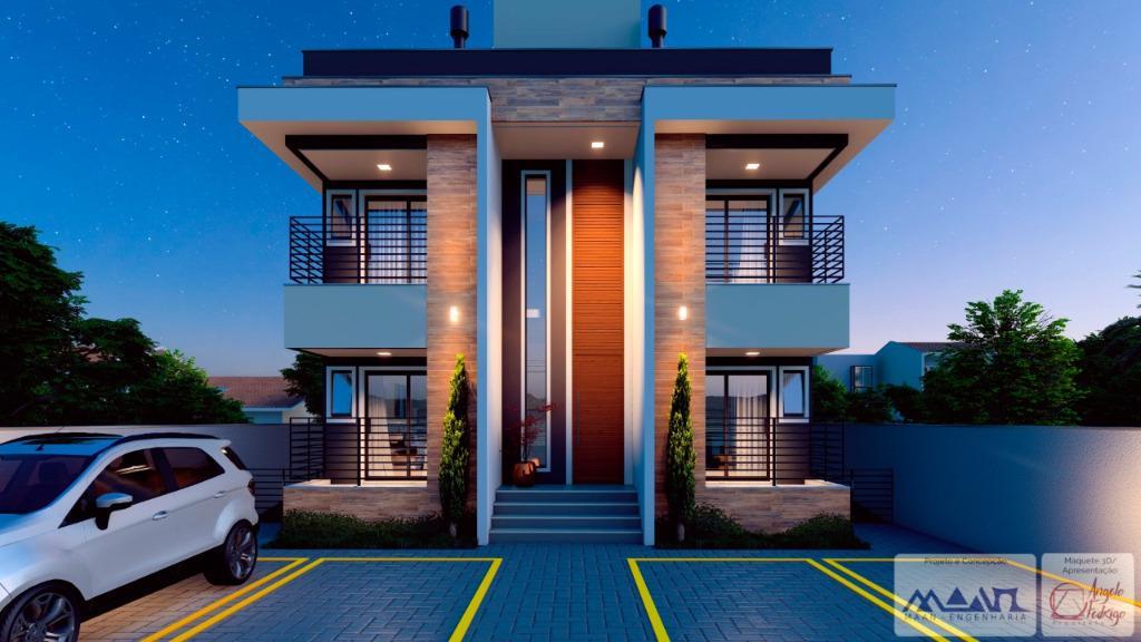 Apartamento à venda, 63 m² por R$ 190.000,00 - Praça - Tijucas/SC