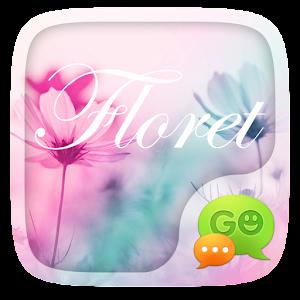 (FREE) GO SMS FLORET THEME For PC