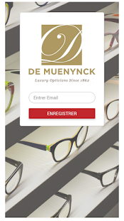 De Muenynck Optique - screenshot
