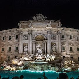Fontana di Trevi  by Gino Petrangelo - Buildings & Architecture Statues & Monuments ( roma, italian, italia, rome, fountain, monument, italy )