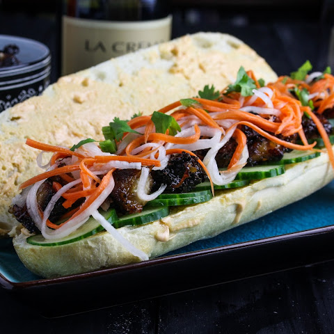 Pork Belly Bánh Mì Sandwiches