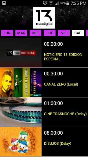 13 MAX Television Corrientes screenshot 4
