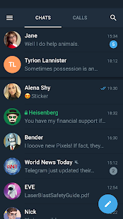 Telegram X screenshot