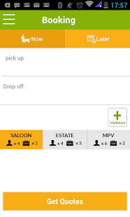 cabtree - Minicab Bookings - screenshot