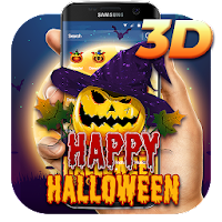 3D Halloween Pumpkin Theme on PC / Windows 7.8.10 & MAC