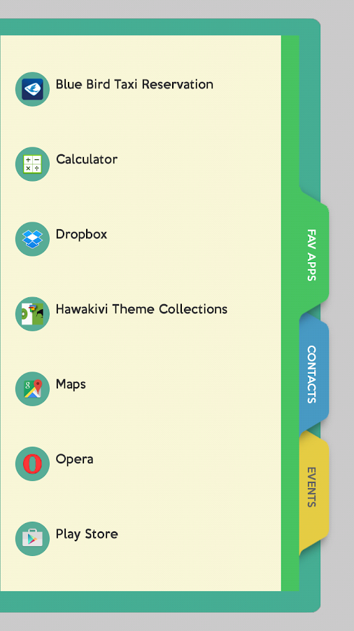 Agenda for Total Launcher Screenshot 2