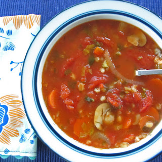 Portobello Mushroom And Barley Soup Recipes