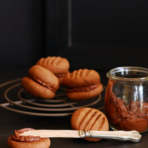 Chocolate Espresso Melting Moment Cookies