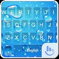 App Blue Water Drop Keyboard Theme APK for Windows Phone