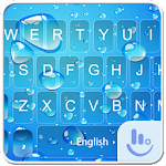 Blue Water Drop Keyboard Theme 6.11.25 Apk