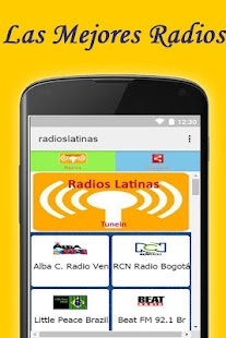 Radios Latinas Gratis App - screenshot