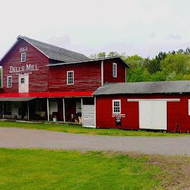 dells mills by Jon Radtke - Buildings & Architecture Public & Historical ( dells mills )