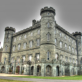 Taymouth Castle by Graham Hill - Buildings & Architecture Public & Historical ( kenmore, scotland, hdr, castle, highlands, taymouth castle, loch tay,  )