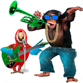 Download Talking Parrot vs Monkey Sing APK