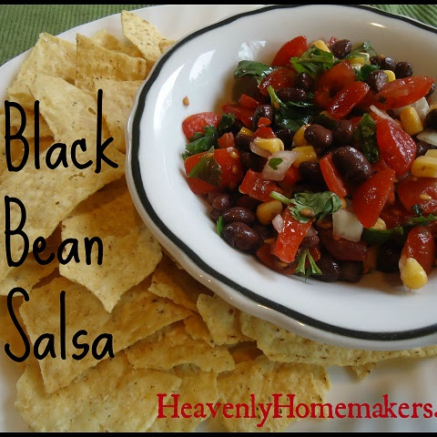 Great Lunch Idea! Black Bean Salsa