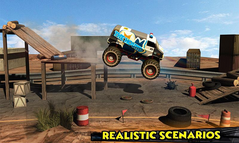 Monster Truck Rider 3D Screenshot 3