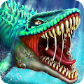 APK Game Jurassic Dino Water World for BB, BlackBerry