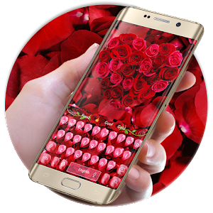 Rose petal keyboard For PC