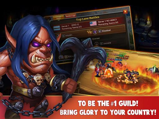 Heroes Charge HD - screenshot