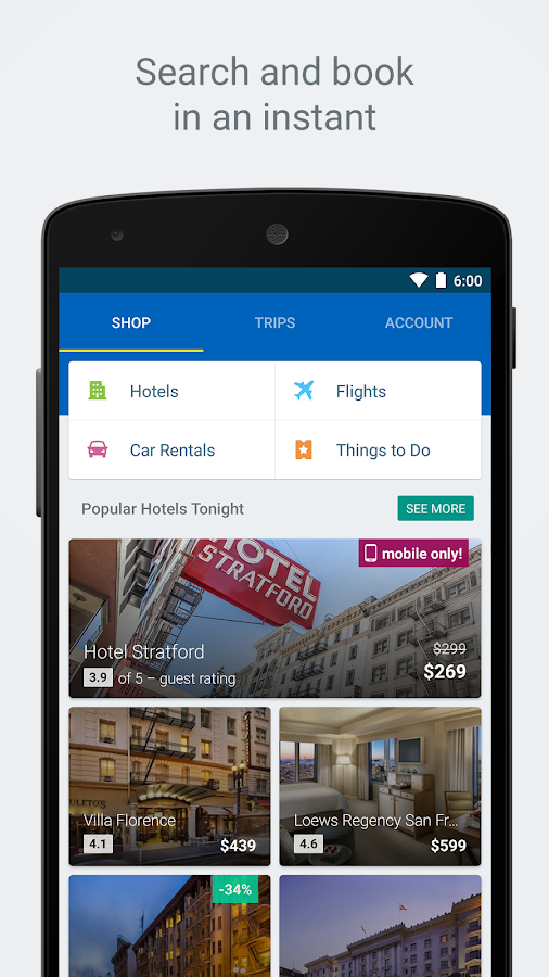 Expedia Hotels, Flights & Cars Screenshot 5