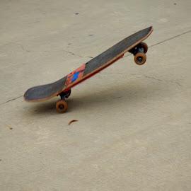 Ghost Rider at the skate park by Gaye Hyde - Sports & Fitness Skateboarding ( #ghostrider, ##skatebaordin )