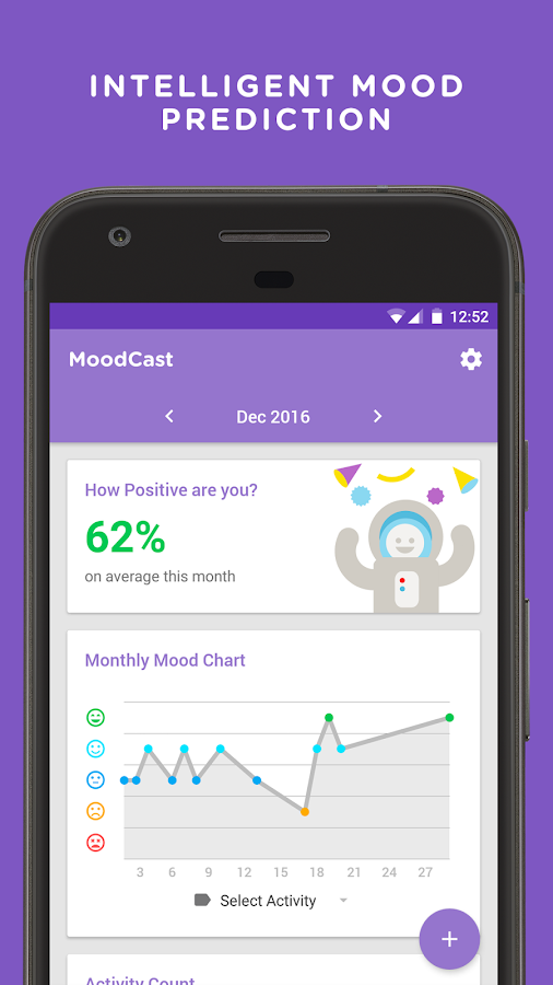 MoodCast Diary - Mood Tracker Screenshot 2