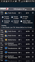 Screenshot of WWAY WEATHER