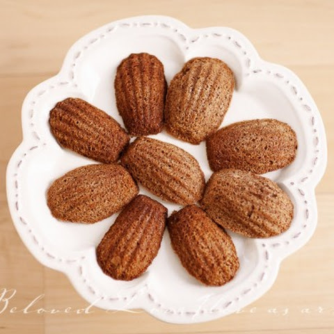Traditional Chocolate French Madeleines ~Guest Post~
