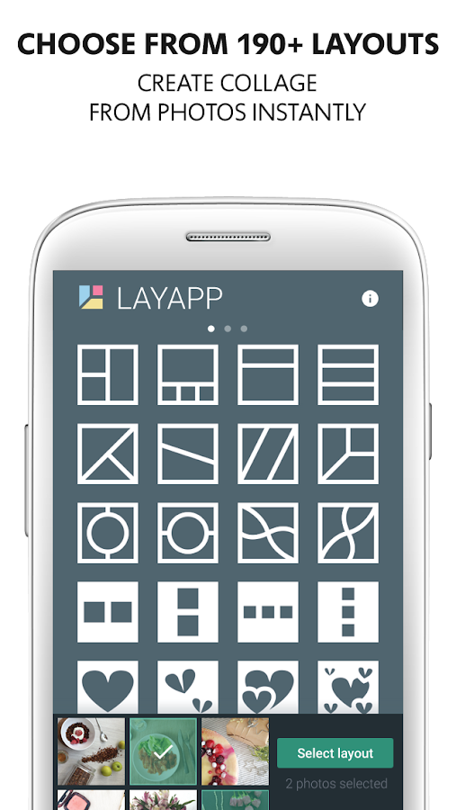 Layapp – Photo Collage Maker Screenshot 0