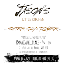 Supper Club Dinner - Sunday 22nd Nov '15