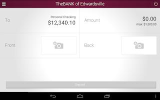Screenshot of The BANK of Edwardsville