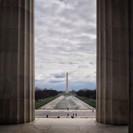 Washington Monument by Katarina Farelius - Buildings & Architecture Statues & Monuments ( #washingtonmonument #capitalofamerica #lincolnmemorial #travelgram #wearetravelersnottourists )