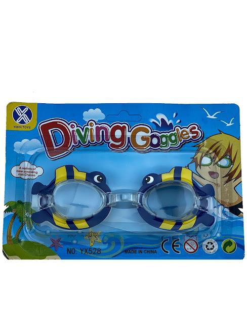 Очки для плавания, Детские, Фигурки, IQ Sport, Swim, S3, Рыбки 2
