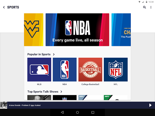 TuneIn: Stream NFL Radio, Music, Sports & Podcasts screenshot 6