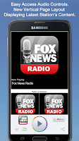 Screenshot of Fox News Radio