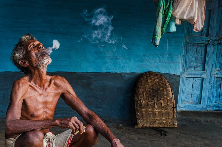 Smoking kills by Rahul Chakraborty - People Portraits of Men (  )