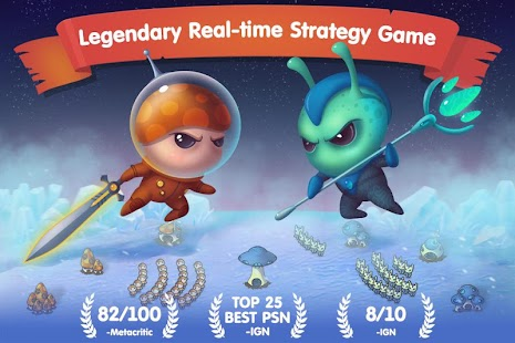 Mushroom Wars: Space! APK for Blackberry