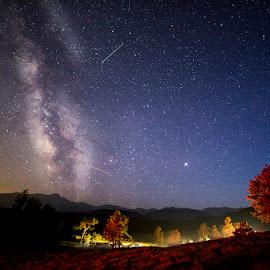 Rocky Mountain High by Ken Smith - Landscapes Starscapes ( milky way, rmnp, starscape, colorado, landscape )
