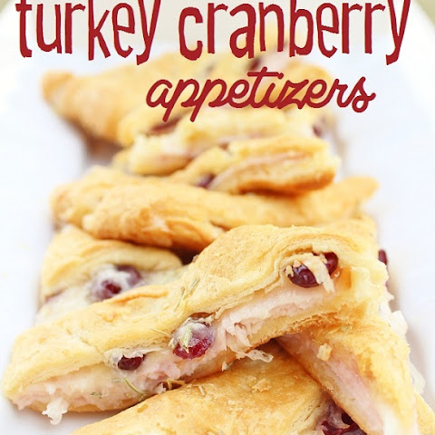 Turkey Cranberry Appetizers