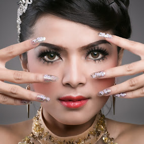 Beauty face of Indonesia by Edwin Kosasih - People Portraits of Women
