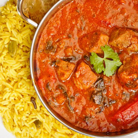 Authentic Indian beef curry