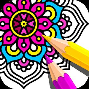 Mandala Coloring Book Online PC (Windows / MAC)